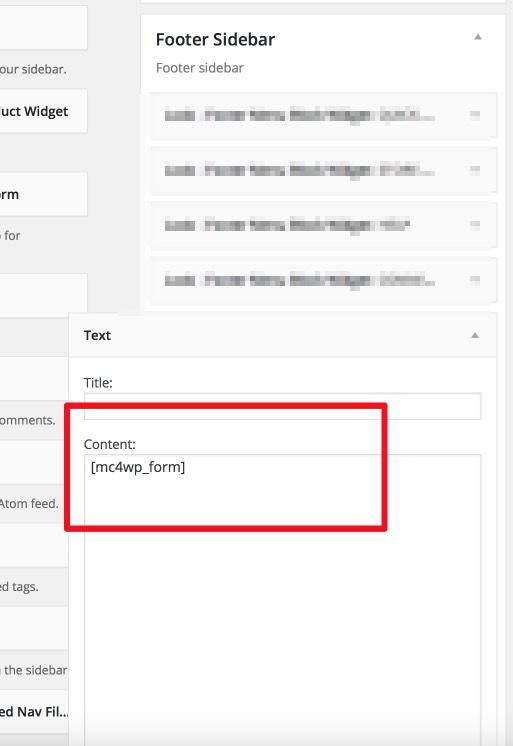 mailchimp-widget
