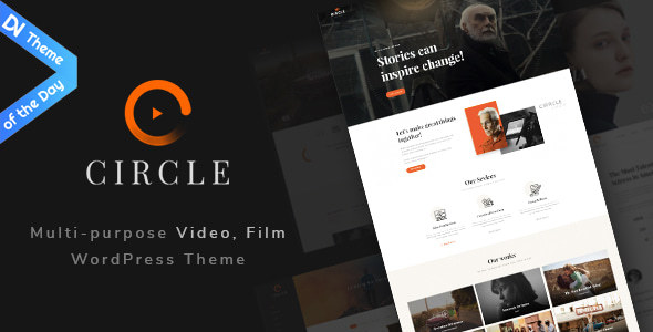 circle filmmaker wordpress theme