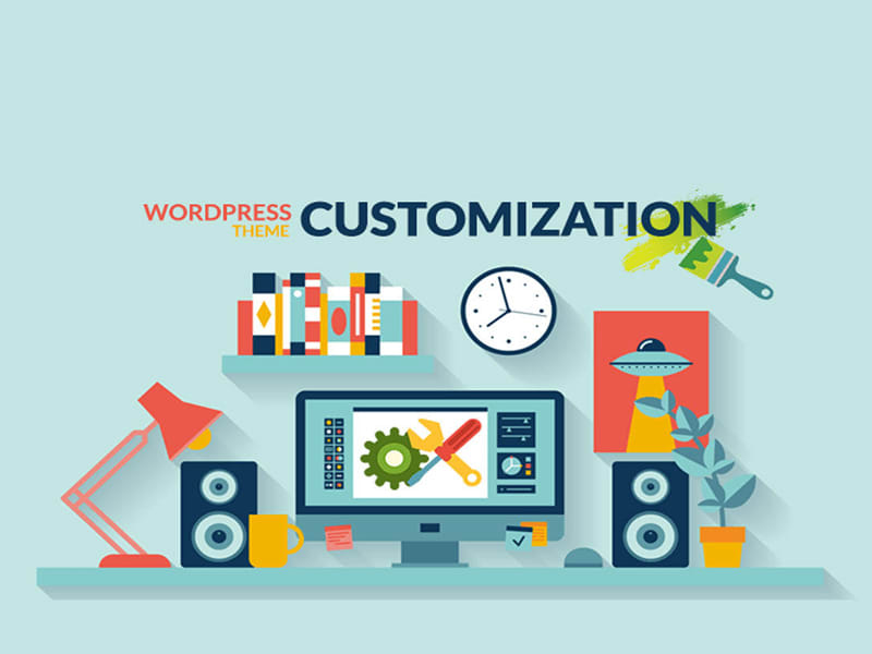 customization wordpress video theme
