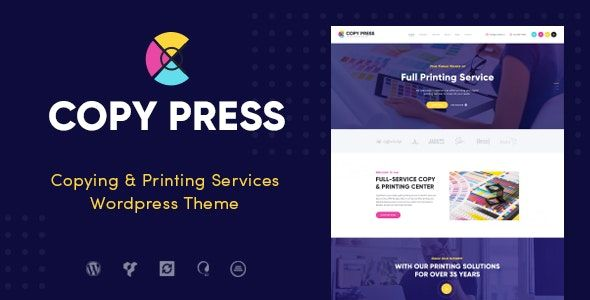 Printing Services WordPress theme