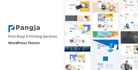 PrintShop & Printing Services WordPress theme